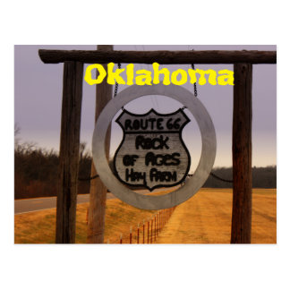 Route 66 Oklahoma Post Card