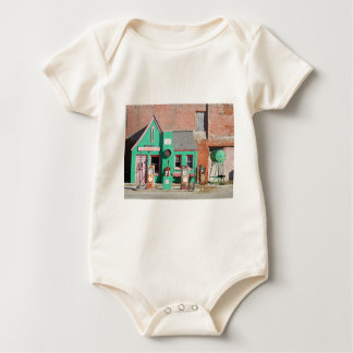 Route 66 Old Conoco Station Baby Bodysuit