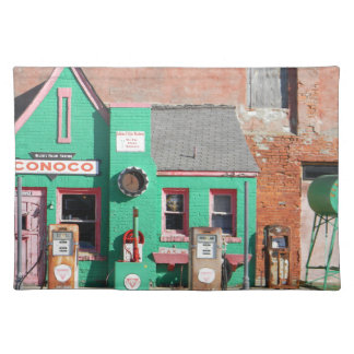 Route 66 Old Conoco Station Placemat