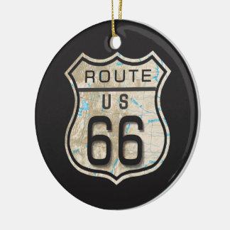 route 66 ornament 2