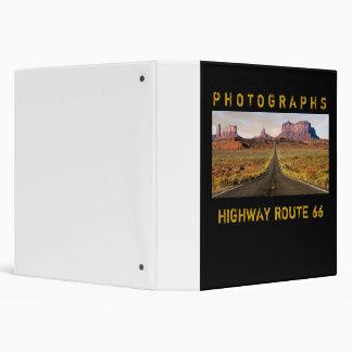 Route 66 Photo Album 3 Ring Binders