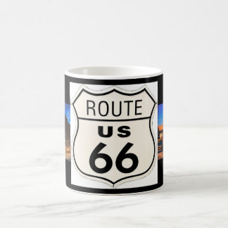 Route 66 Picture Mug