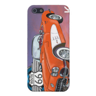 Route 66 Red Convertible - SRF iPhone 5/5S Cover