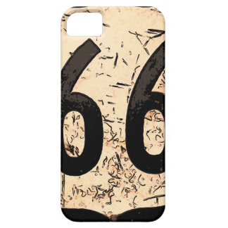 route-66-road-sign art iPhone 5 cover