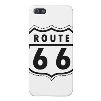 Route 66 Road Sign iPhone 5/5S Case
