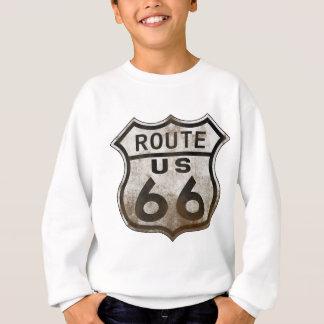 Route 66 Road Sign Sweatshirt