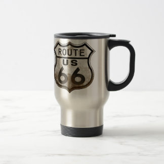 Route 66 Road Sign Travel Mug