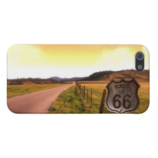 """Route 66 Road Trip Festival """"Road Sign"""" iPhone 5 Case For iPhone 5/5S"""