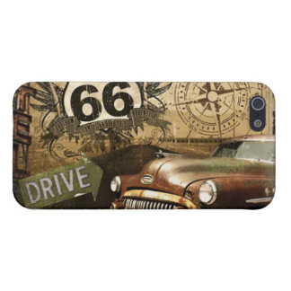 "Route 66 Road Trip ""Gas Station"" iPhone 5/5s Case"