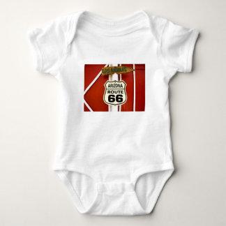Route 66 Seligman Arizona Usa Baby Bodysuit