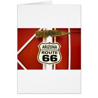 Route 66 Seligman Arizona Usa Card