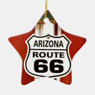 Route 66 Seligman Arizona Usa Ceramic Ornament