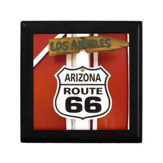 Route 66 Seligman Arizona Usa Gift Box