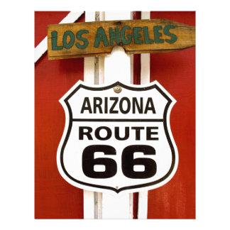 Route 66 Seligman Arizona Usa Letterhead