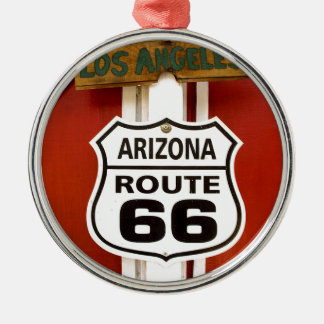 Route 66 Seligman Arizona Usa Metal Ornament