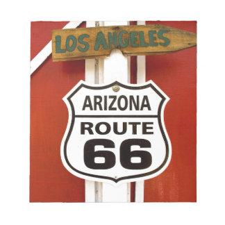 Route 66 Seligman Arizona Usa Notepad