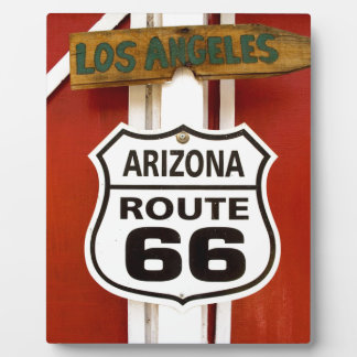 Route 66 Seligman Arizona Usa Plaque