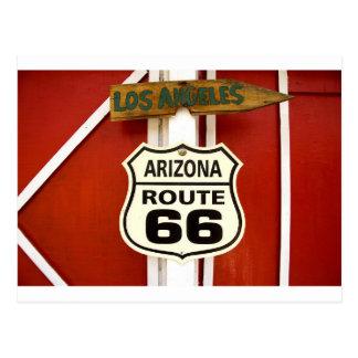 Route 66 Seligman Arizona Usa Postcard