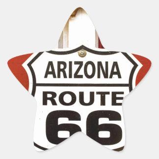 Route 66 Seligman Arizona Usa Star Sticker