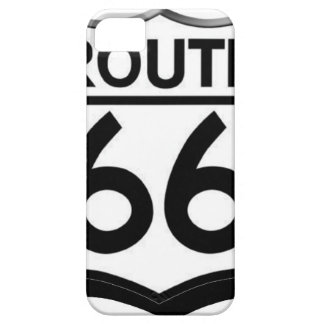 route 66 shield with shadow iPhone 5 case