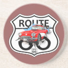Route 66 sign gifts coaster
