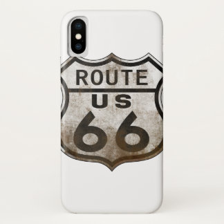 Route 66 Sign iPhone X Case
