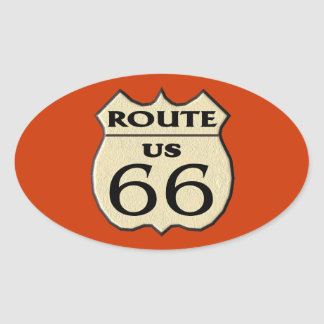 Route 66 - stickers