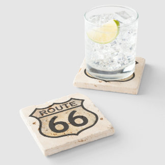 Route 66 Stone Coaster