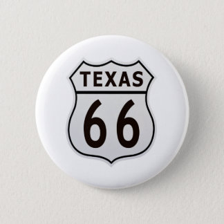 Route 66 Texas 2 Inch Round Button