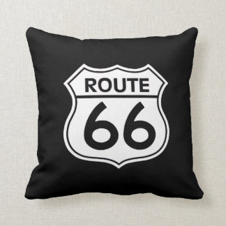Route 66... throw pillow