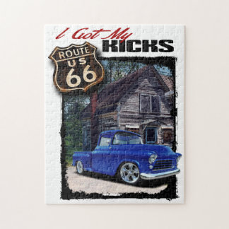 Route 66 Truck Jigsaw Puzzle
