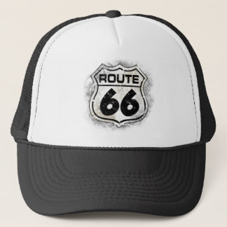 Route 66 trucker hat