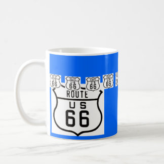 Route 66 Vintage American Road Sign Coffee Mug
