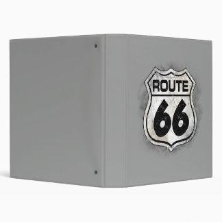 Route 66 vinyl binders