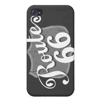 Route 66 Weatherboard iPhone 4 Cover