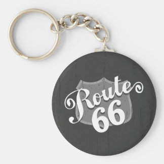 Route 66 Weatherboard Keychain