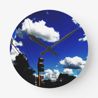 ROUTE 91 WALL CLOCK