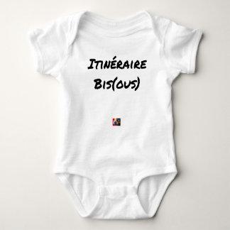 ROUTE (A) (OUS) - Word games - François City Baby Bodysuit