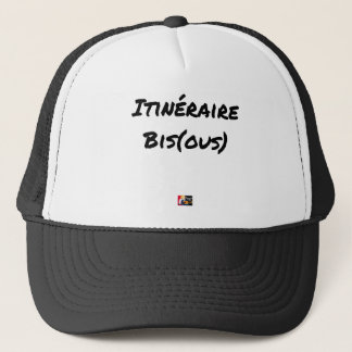 ROUTE (A) (OUS) - Word games - François City Trucker Hat