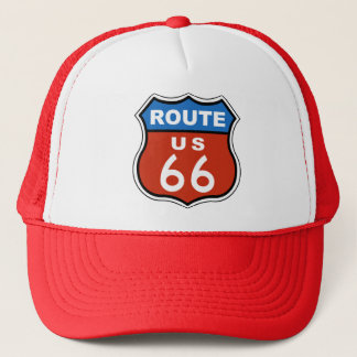 Route US 66 Sign Trucker Hat