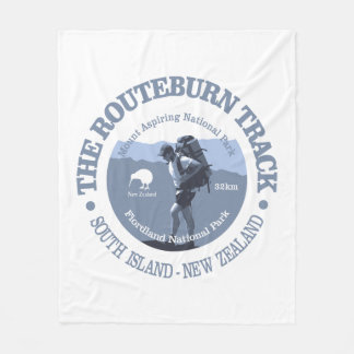Routeburn Track Fleece Blanket