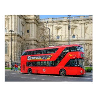 Routemaster Bus London Uk Postcard