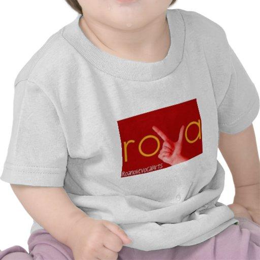 ROVA - Roanoke Vocal Arts T-shirts