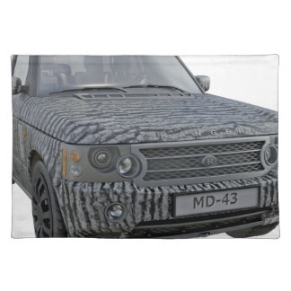 Rover Car in Camouflage Placemat