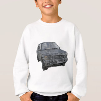 Rover Car in Camouflage Sweatshirt