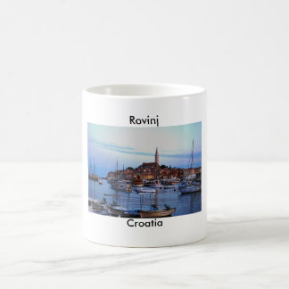 Rovinj Harbor, Croatia Coffee Mug