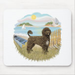 Row Boat - Brown Portie 2 Mousepads