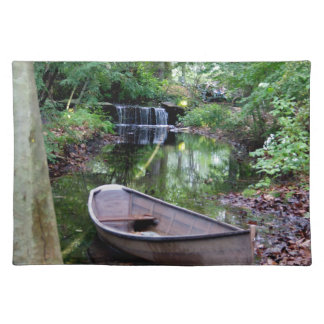 Row boat place mat