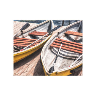 Row Boats Canvas
