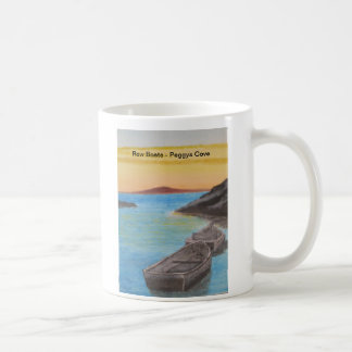 Row Boats - Peggy's Cove Sunet Coffee Mug